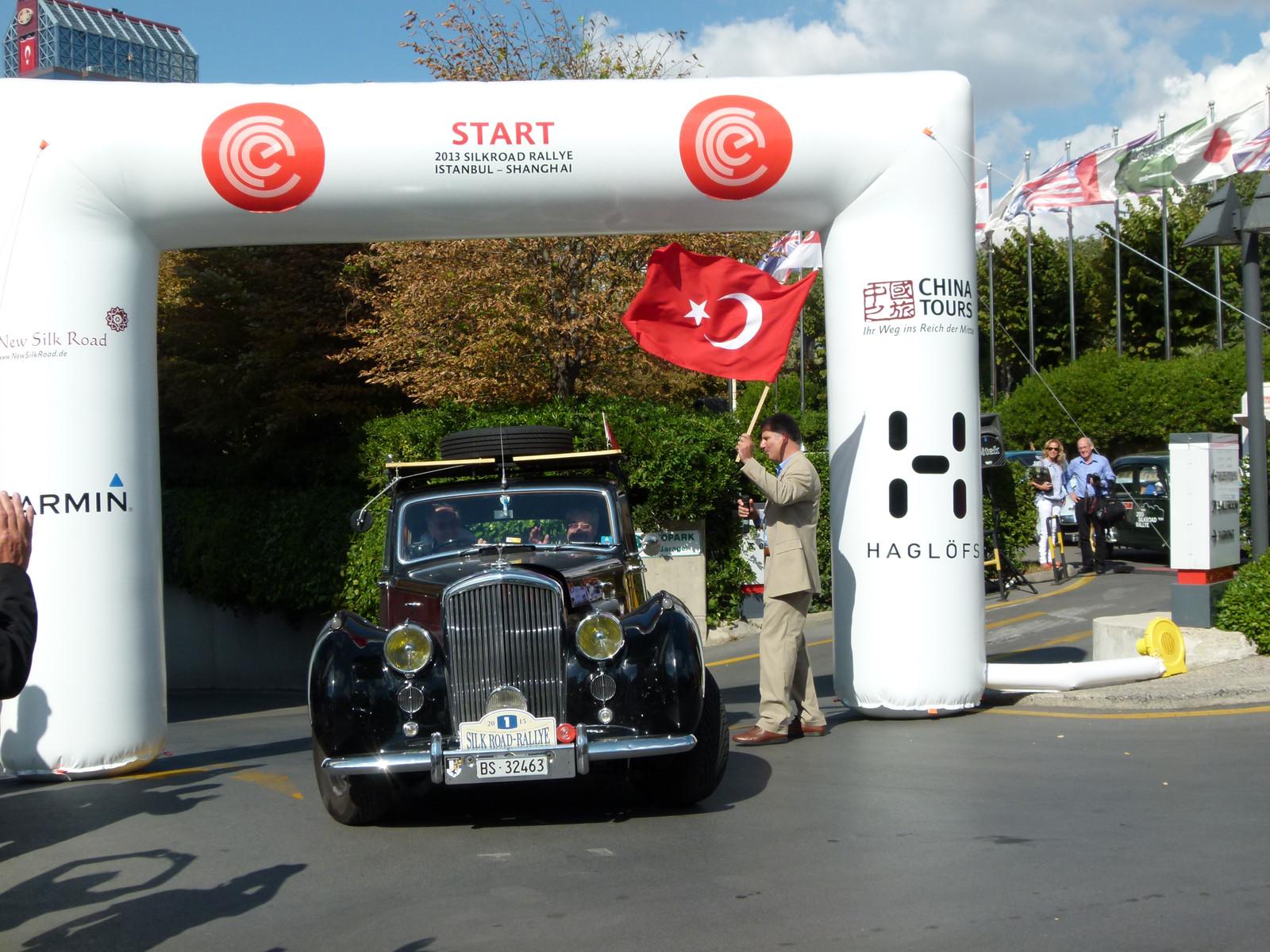 Silkroad Rallye Istanbul - Shanghai 2013