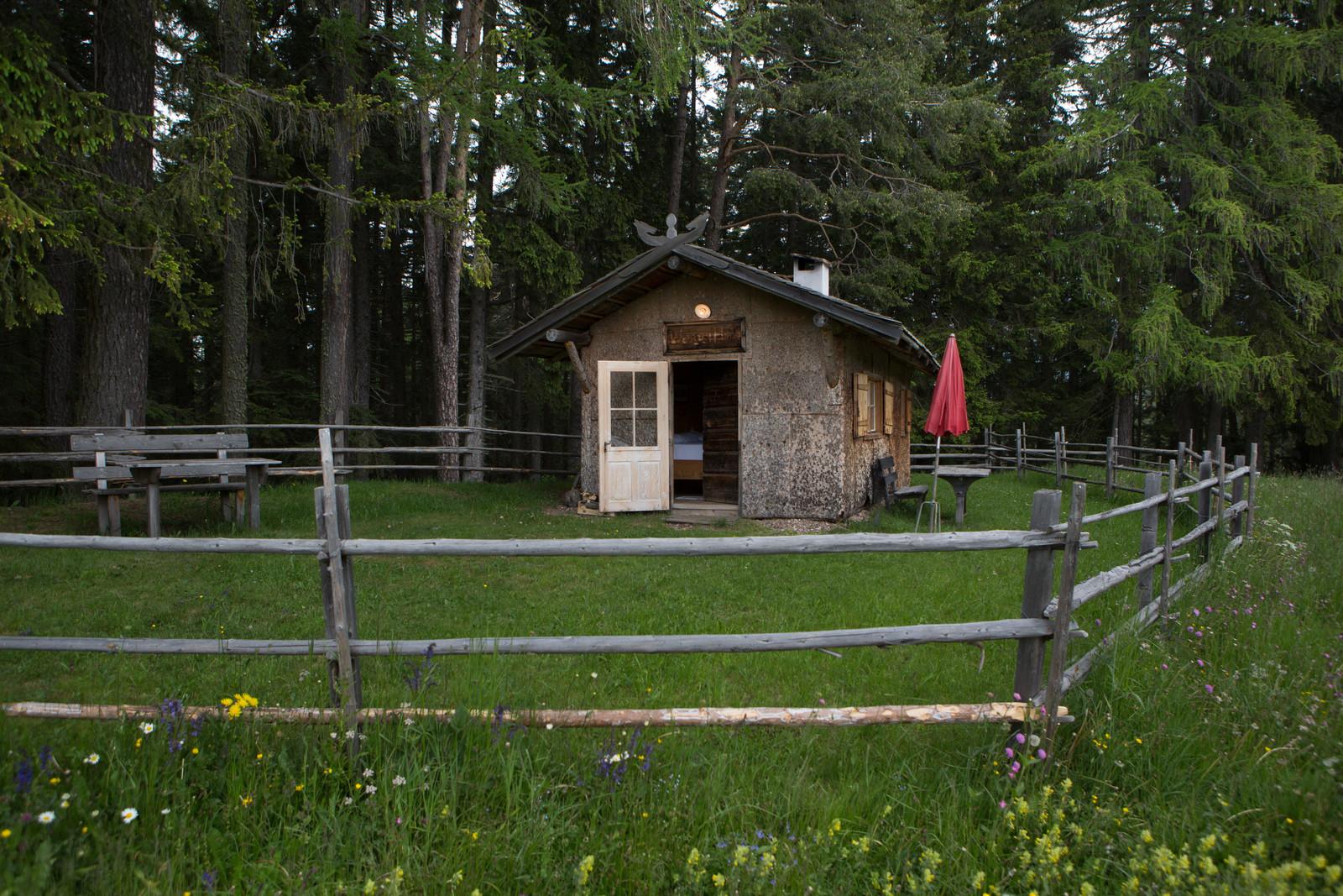 Unsere eigene Hütte