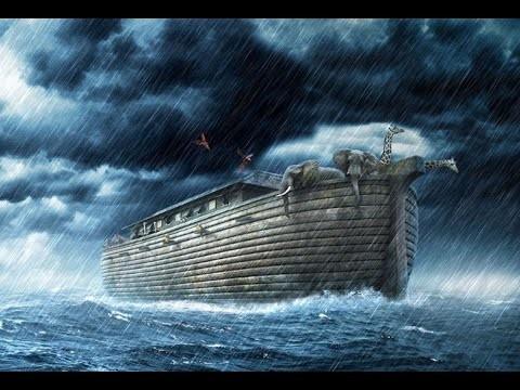 Noahs Arche wurde in Pinzon angebunden
